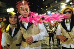 φωτογραφία έκθεσης σχετικά με το Τυρναβίτικο καρναβάλι