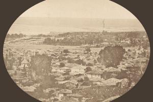 Φωτογραφία Ρουμπελλαίν: η δυτική Θεσσαλονίκη γύρω στα 1873.