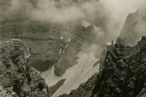 κορυφές Ολύμπου, ασπρόμαυρη φωτογραφία, αρχείο ΜΦΘ