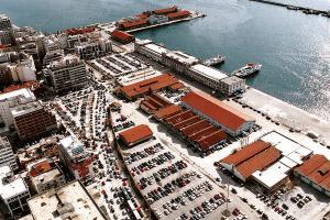 Οργανισμός Λιμένος Θεσσαλονίκης - Αεροφωτογραφία