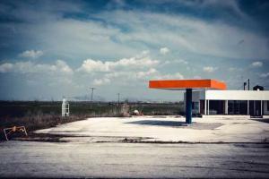 εγκαταλελειμμένο βενζινάδικο