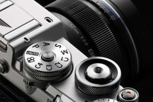 λεπτομέρεια της νέας φωτογραφικής μηχανής PEN-F της Olympus