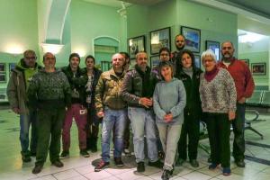 φωτογραφία μελών της Λέσχης Φωτογραφίας - Κινηματογράφου Σύρου