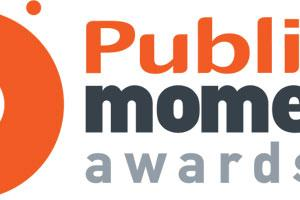 Logo public moments awards