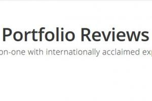 εικόνα που γράφει Portfolio Reviews - One on one with internationally acclaimed experts