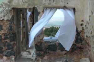εγκαταλελειμμένο κτήριο, κουρτίνα
