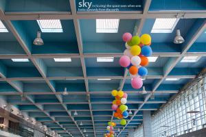Μπαλόνια σε ταβάνι