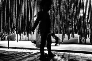 Φωτογραφία διαγωνισμού, σκιά παιδιού