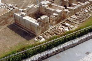 ποδηλάτης, αρχαιολογικός χώρος
