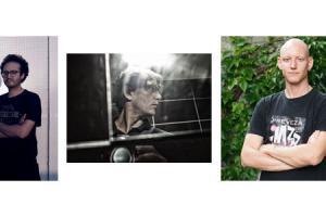 πορτραίτα των τριών φωτογράφων