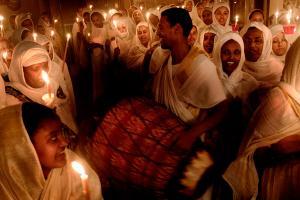 θρησκευτική γιορτή, ιερός χώρος