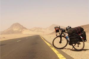 ποδήλατο σε δρόμο του Cape Town
